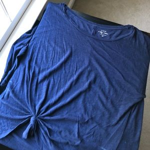 Blue long sleeve shirt from jcrew
